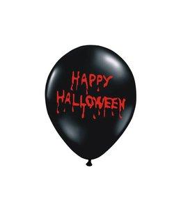 Partydeco Halloween Ballonnen - 6 stuks - 30 cm