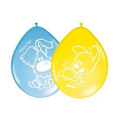 Folat Woezel en Pip Ballonnen (2 kleuren) - 8 stuks - 30 cm