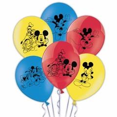 Decorata Party Mickey Mouse Ballonnen (3 kleuren)