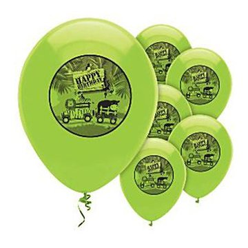 Creative Converting Safari Avontuur Ballonnen - 6 stuks - 30 cm