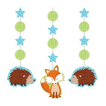 Creative Converting Forest Fox Hangdecoraties - 3 stuks