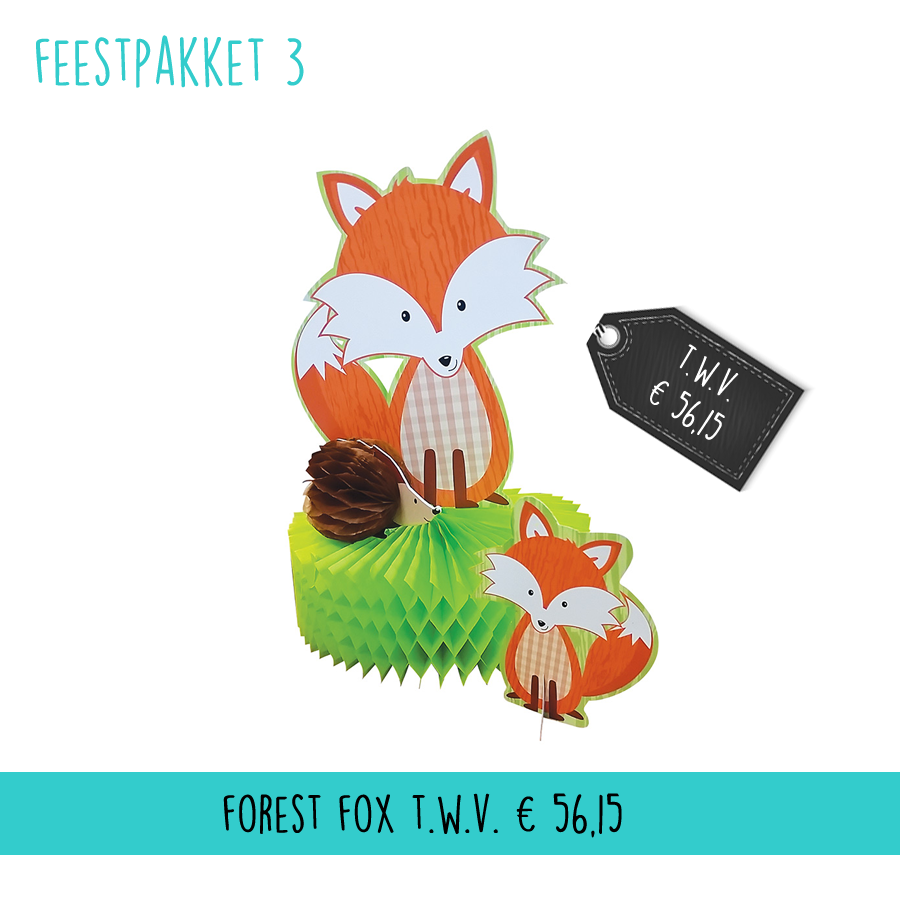 Feestpakket Forest Fox