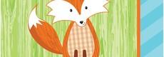Forest Fox / Woodland Feestartikelen