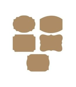 Creative Converting Kraft Stickers - 10 stuks