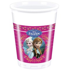 Decorata Party Frozen Bekers - 8 stuks