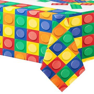 Creative Converting Lego Blokken Tafelkleed - 137 x 259 cm - plastic