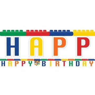 Creative Converting Lego Blokken Letterslinger - 2,36 meter