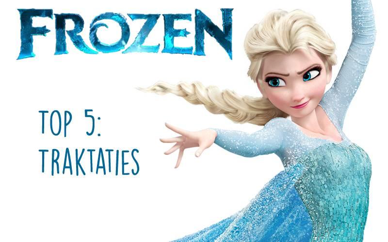 Top 5: Frozen traktaties naast Elsa cakepops en Maak-je-eigen-Olaf.