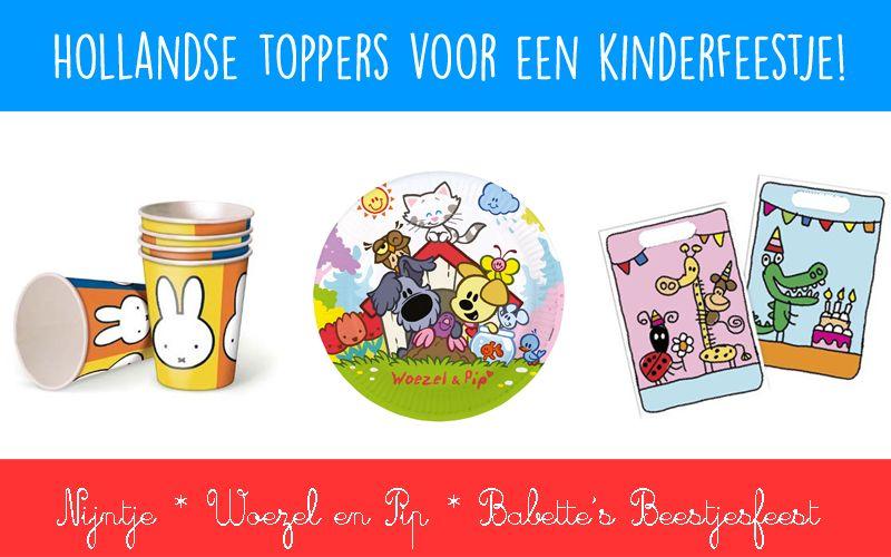 3 Nederlandse toppers voor een kinderfeestje
