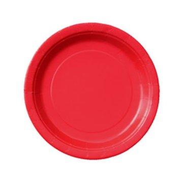 Unique Rode Bordjes - 8 stuks - 18 cm