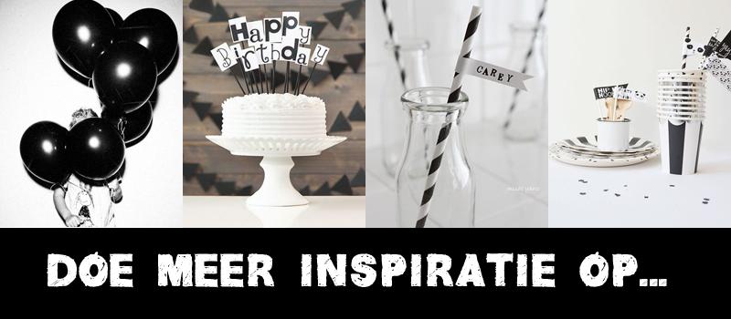 Inspiratie Zwart & Wit feestje