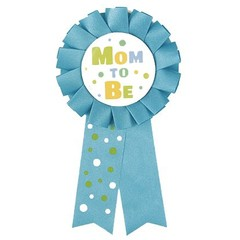 Unique Mom To Be Rozet Blauw