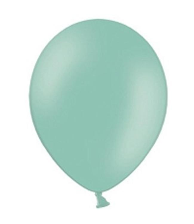 Partydeco Ballon Mint - 10 stuks - 30 cm
