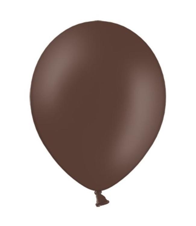 Partydeco Ballon Cacao Bruin