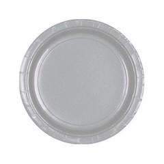 Unique Zilveren Bordjes - 20 stuks - 18 cm