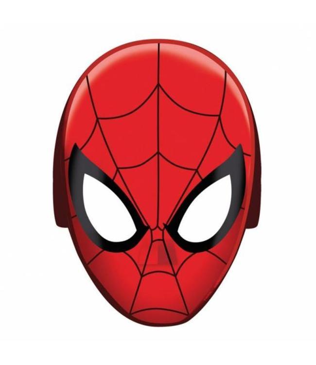 Amscan Spiderman Maskers - 8 stuks