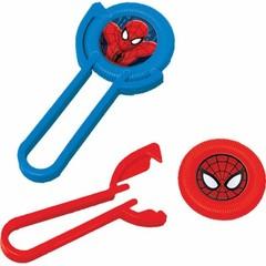 Amscan Spiderman Disc Shooters - 12 stuks