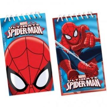 Amscan Spiderman Notitieblokjes - 12 stuks