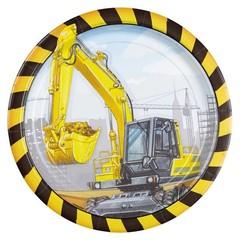 Amscan Constructie Bouwplaats Borden - 8 stuks - 23 cm