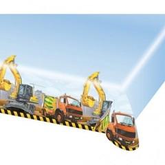 Amscan Constructie Bouwplaats Tafelkleed - 1,80 x 1,20 m - plastic