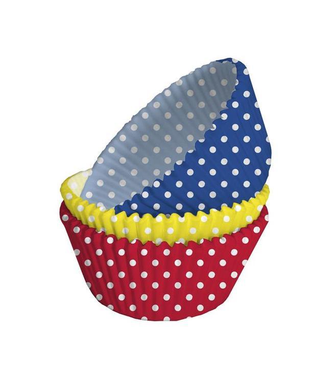 Creative Party Cupcake Cups Polkadots - 75 stuks