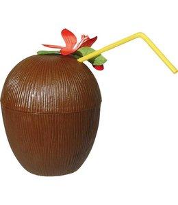 Folat Kokosnoot met bloem