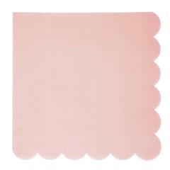 Meri Meri Pastel Servetten (4 kleuren) - 20 stuks