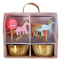 Meri Meri I Believe in Unicorns Cupcakes Set