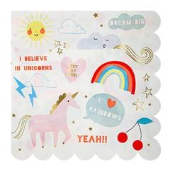 Meri Meri I Believe in Unicorns Servetten