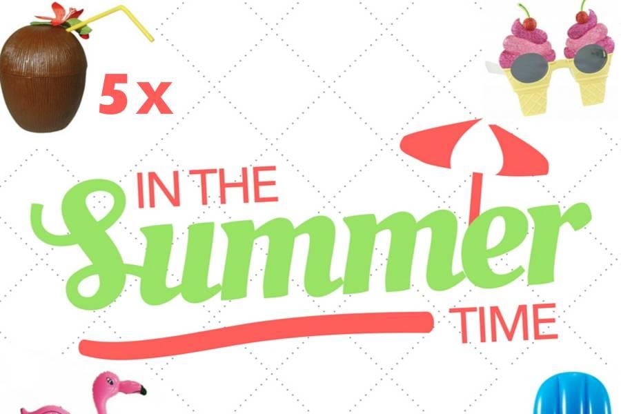 Gespot: 5 zomerse feestjes voor kinderen en volwassenen