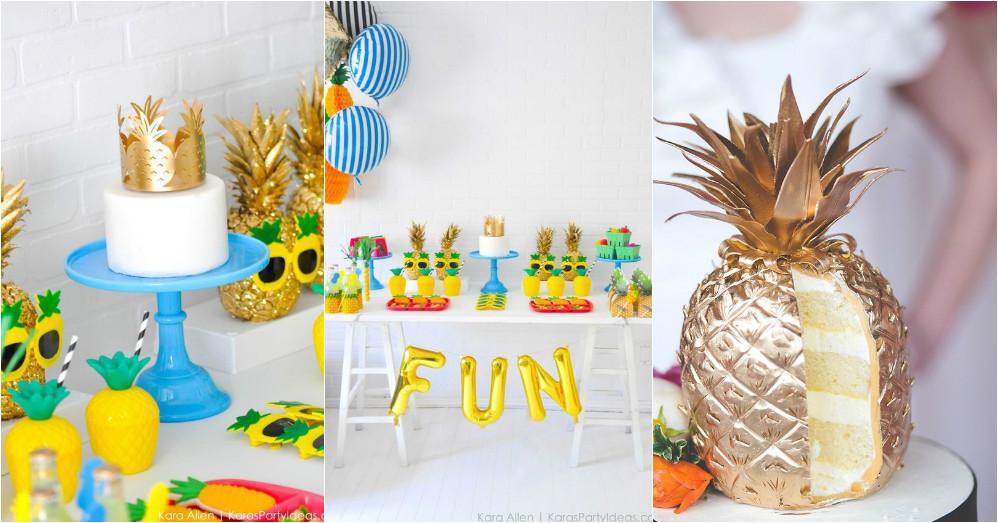 Ananas feestje tips