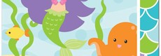 Mermaid Friends Feestartikelen
