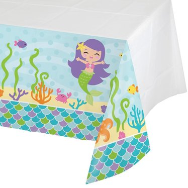 Creative Converting Mermaid Friends Tafelkleed - 1,37 x 2,59 meter