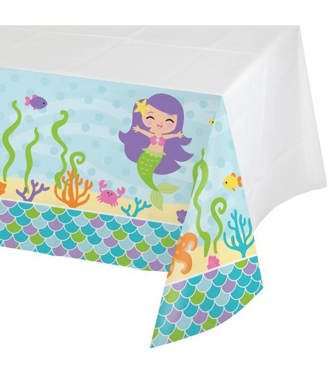 Creative Party Mermaid Friends Tafelkleed - 1,37 x 2,59 meter