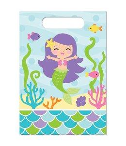 Creative Converting Mermaid Friends Uitdeelzakjes - 8 stuks