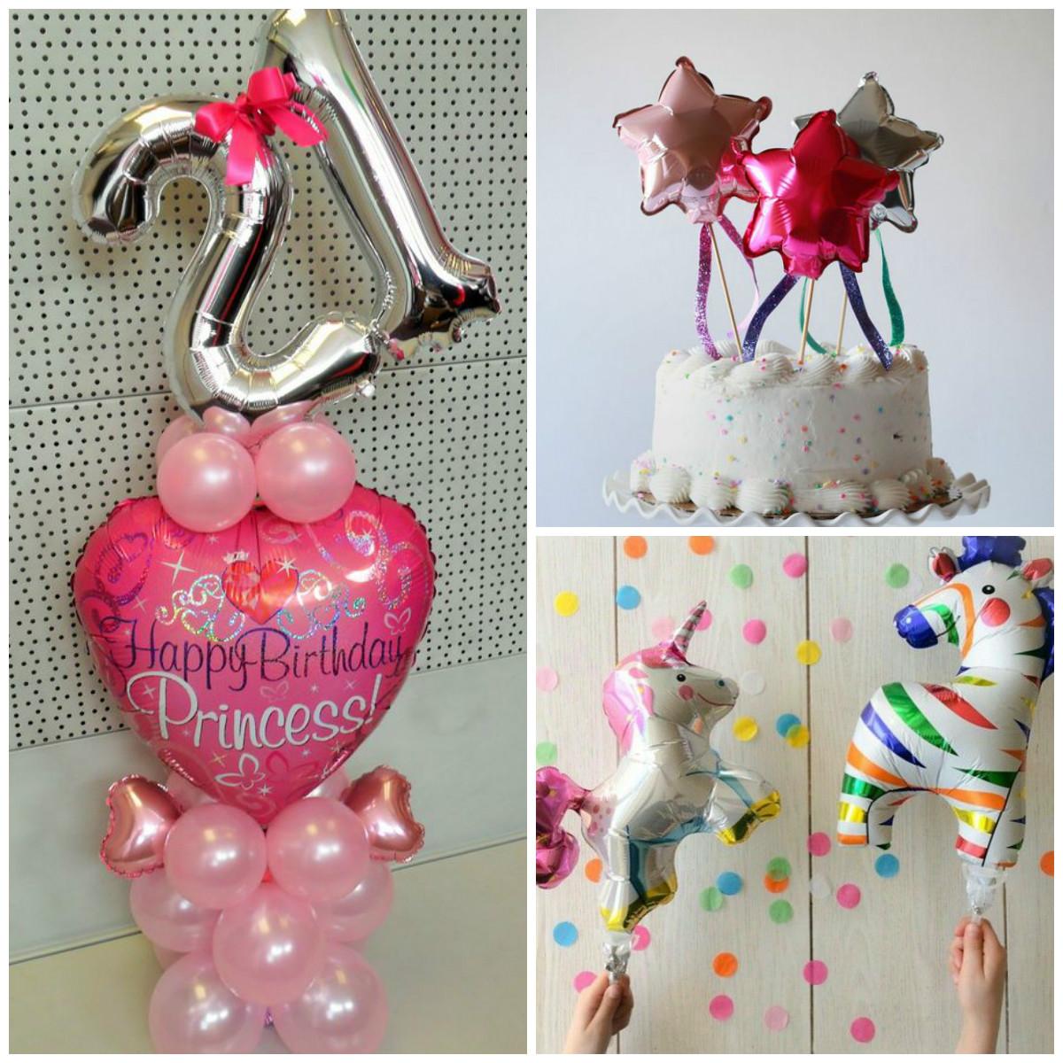 Ballonboeket en mini balloons