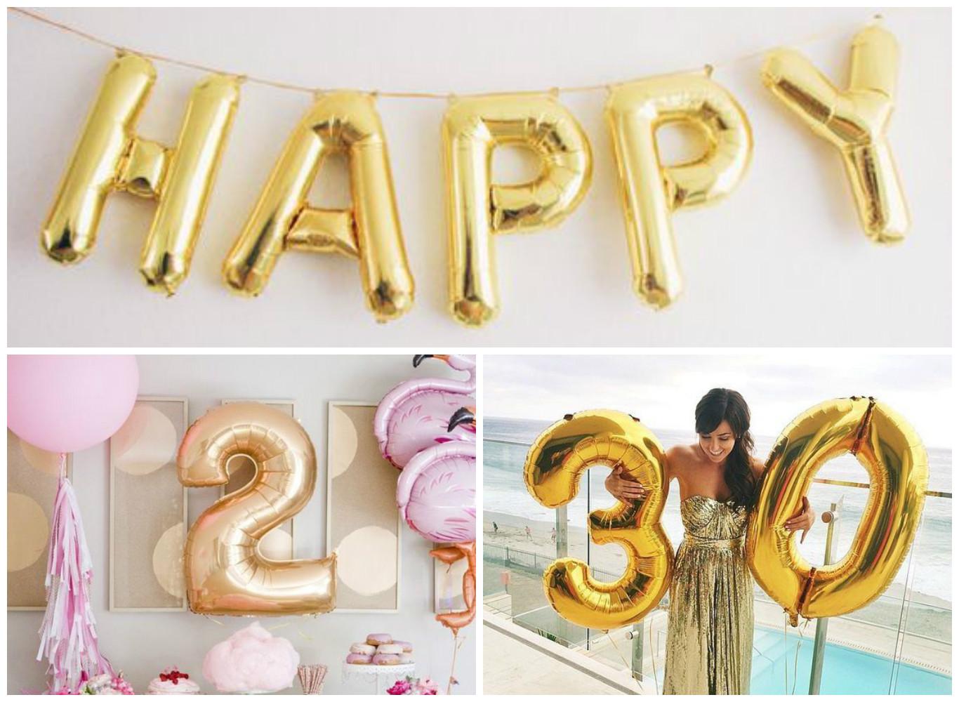 Letters en cijfersfolieballonnen