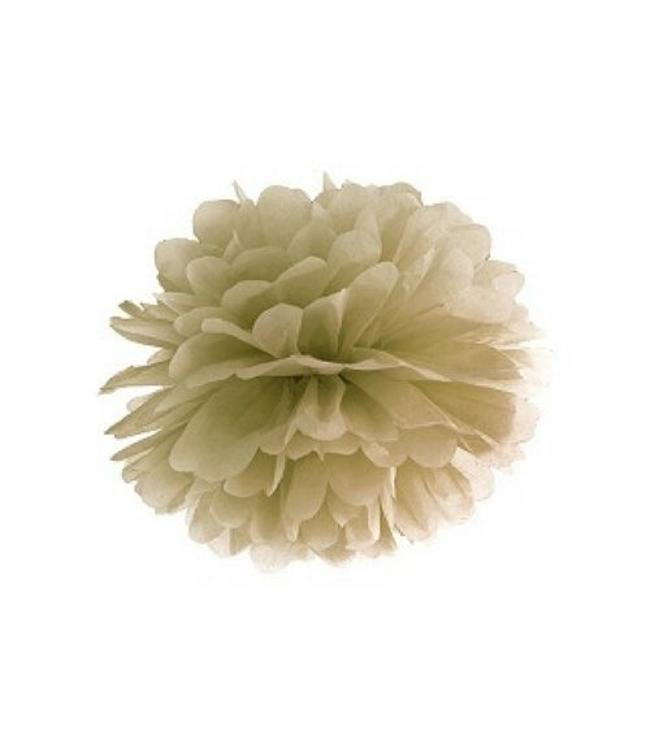 Partydeco Pom Pom Goud (2 maten) - 25 en 35 cm - per stuk
