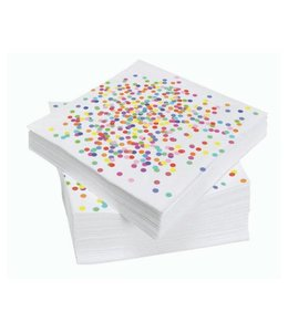 Haza Confetti Party Servetten - 20 stuks