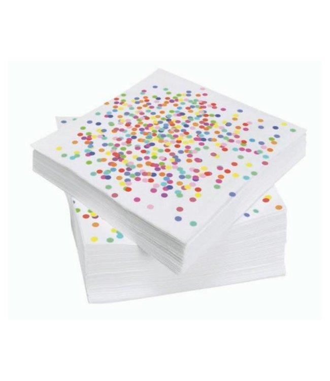 Haza Confetti Party Servetten - 20 stuks