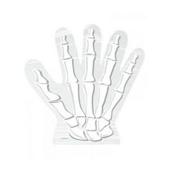 Unique Skelet Hand Uitdeelzakjes Transparant