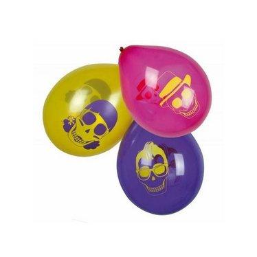 Boland Skull Party Ballonnen - 6 stuks