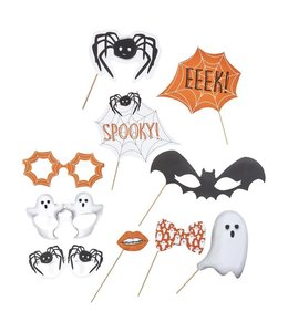 Ginger Ray Spooky Photo Props - 10 stuks