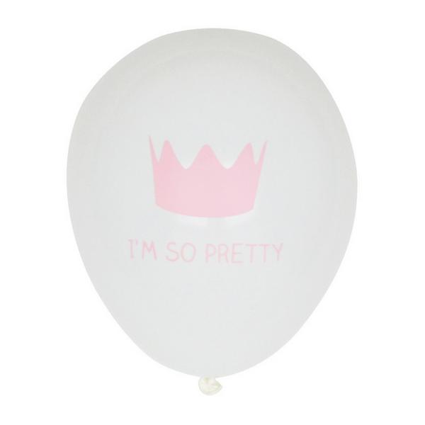 Roze Kroontje Ballonnen