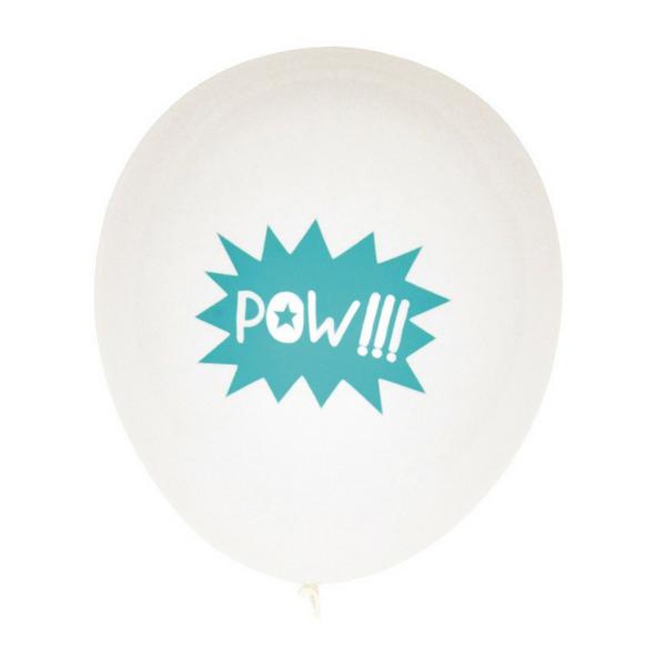 Superhelden Ballonnen 'Pow'