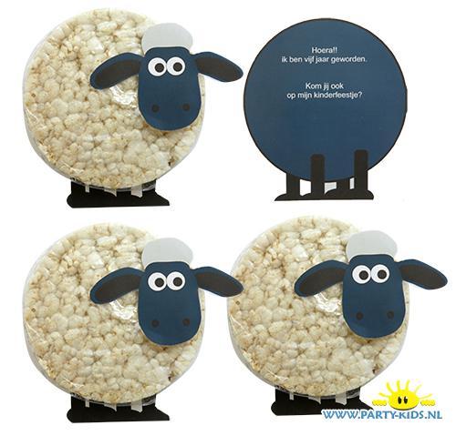 Schaun het schaap traktaties rijstwafel