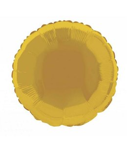 Unique Folieballon Rond Goud - 46 cm