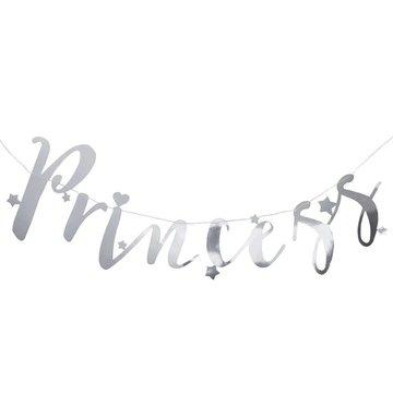 Ginger Ray Princess Perfection Zilveren Slinger 'Princess' - 1,5 meter