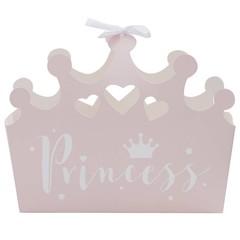 Ginger Ray Princess Perfection Lichtroze Kroontjes Uitdeeldoosjes - 5 stuks