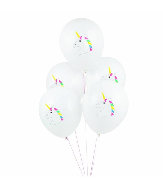 My Little Day Eenhoorn Ballonnen - 5 stuks - 30 cm